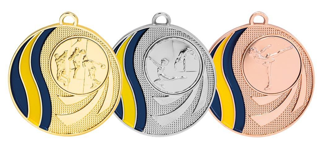 50 mm medalj